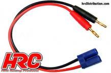 HRC Racing Ladekabel Gold Banana Plug zu XT60 Stecker HRC9110